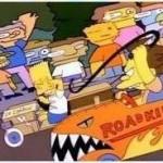Bart Simpson\'s soapbox car